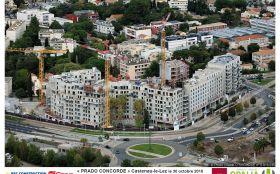 Giraud, Giraud-btp, résidence Prado Concorde,Castelnau-le-Lez